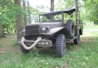 Dodge Weapon carrier 51 1943 KAKI