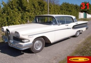 Edsel Citation 1958 Cr�me