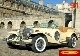 Voitures anciennes de collection pour mariage et c r monies for Garage auto gagny