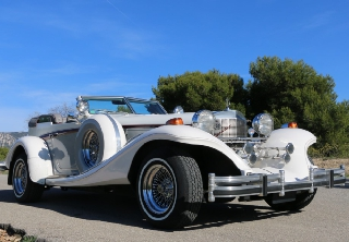 location voiture ancienne mariage collection Excalibur