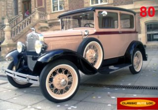 FORD A 1929 Beige/noir
