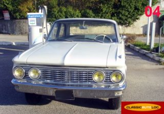 Ford Comet 1960 blanche