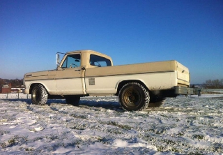 Ford F250 1969 Creme