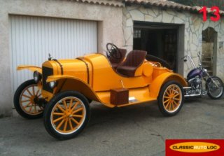 Ford T Speedster 1918