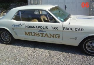 FORD MUSTANG 1964 Blanc