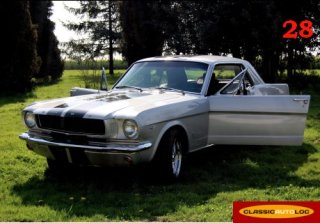 Ford Mustang 1965 Gris