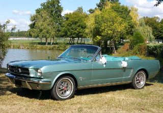 Ford mustang 1965 Turquoise