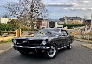 Ford mustang 1966 noir