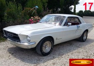 Ford  Mustang  1967 Blanc