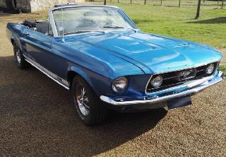 Ford Mustang 1967 Bleu