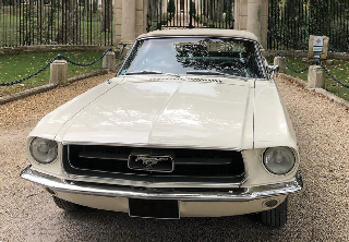Ford MUSTANG 1967 CABRIOLET 1967 BLANC