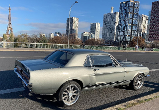 Location Ford Mustang 1967 Shelby replica