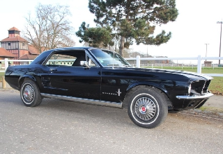 Ford Mustang 1967 Noire