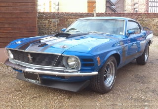 FORD MUSTANG 1970 BLEUE