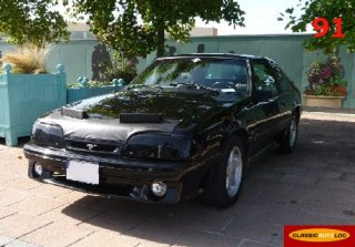 FORD MUSTANG 1993 GT 5,0 L Noire