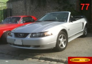 Ford Mustang 2004 Gris