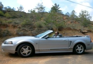 Location Ford Mustang 2004 Gris