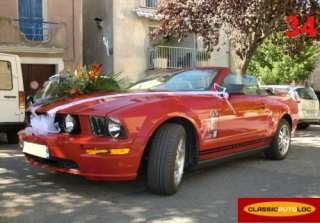FORD MUSTANG 2005 ROUGE