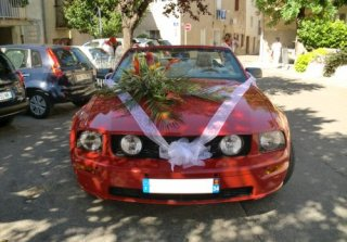Location FORD MUSTANG 2005 ROUGE