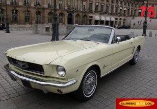 Ford Mustang 289 1966 blanc cass�