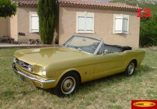 Ford Mustang Cabriolet 1965 Or M�tal