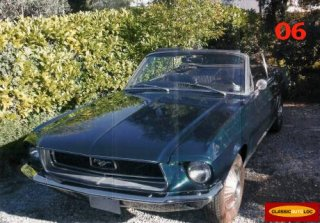 Ford Mustang Cabriolet 1968 Vert Fonc� M�tal