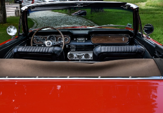 Location Ford MUSTANG GT 1965 rouge