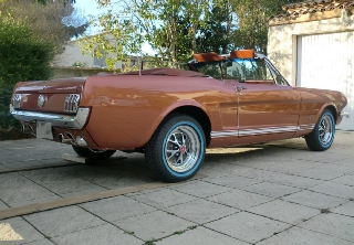 Location Ford Mustang GT 1966