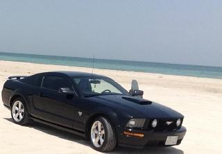 Ford Mustang GT 2009 noir