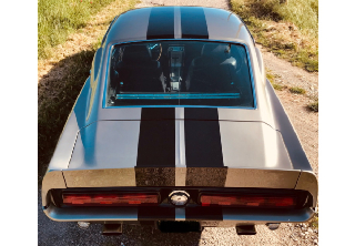 Location Ford Mustang GT 500 Eleanor 1967 Gris fusil