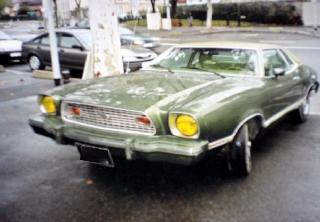 Location Ford Mustang II 1974 Vert
