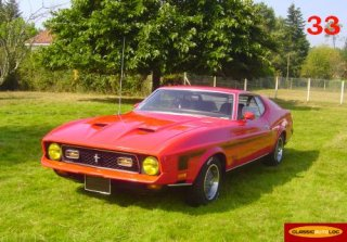 Ford Mustang Mach1 1971