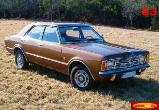 FORD TAUNUS (TC1) 1972 Marron