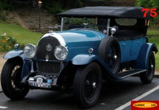 Hotchkiss AM 80 1929 Bleu