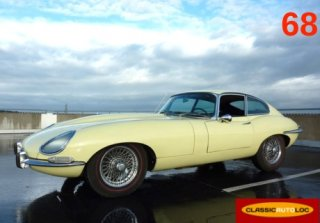 Jaguar Type E Serie 1 4.2 1967 Prim. yellow