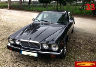 Jaguar XJ6 4.0 Sovereign 1984 Noir