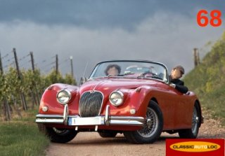 Jaguar XK 150 1959 Rouge