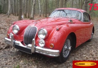 Jaguar XK150 1958 Rouge