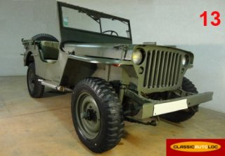 Jeep Willys 1960 Kaki