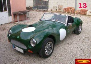 LOTUS Marlin 1961 British Racing Green