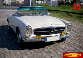 Mercedes 230sl 1966 cr�me