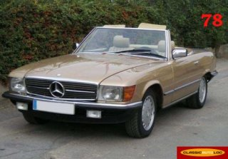 Mercedes Benz 500 SL 1971