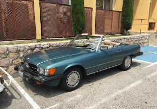 Mercedes Benz 560 SL 1986