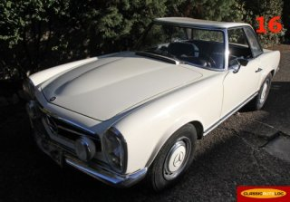 MERCEDES Pagode 1967 Blanche