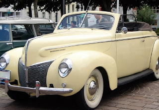 Mercury Eight 1940 Sable