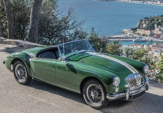 MG A 1958 Vert Olive