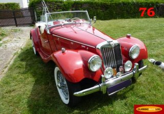 MG TF 1955 ROUGE