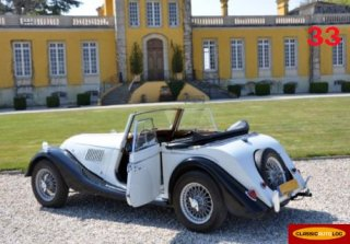 MORGAN 4-4 1967 Noir/Blanc