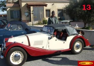 MORGAN Roadster 1961 Bordeaux/Beige