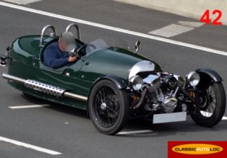 Morgan Three wheeler 2013 verte